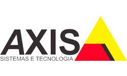Логотип AXIS системы видеонаблюдения