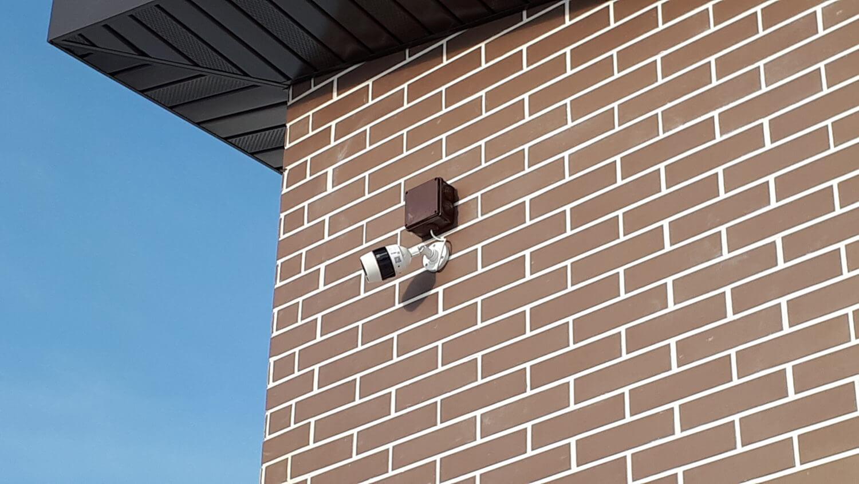 Установка камеры EZVIZ C3S