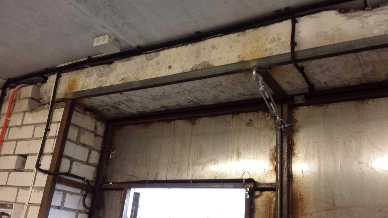 Пример установки охранной системы в гараже