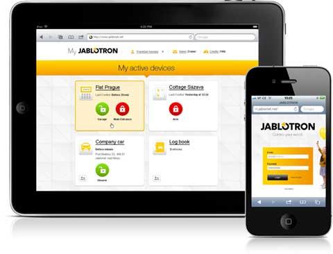 Приложение Jablotron