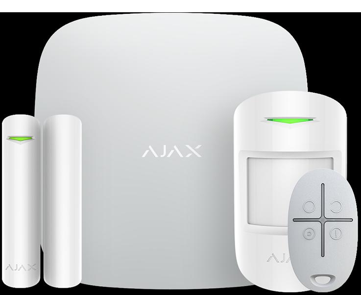 Ajax (комплект с брелком) белый v2