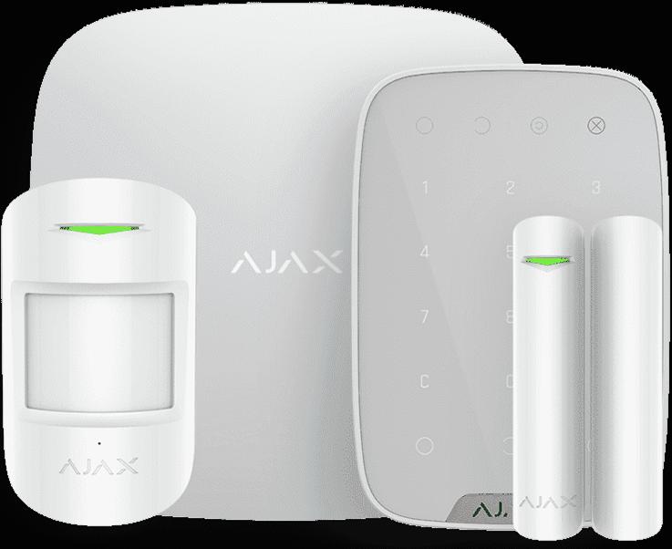 Ajax (комплект с клавиатурой) белый v2